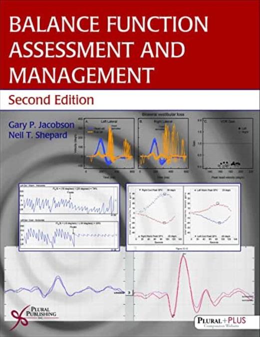 Balance Function Assessment and Management 표지이미지